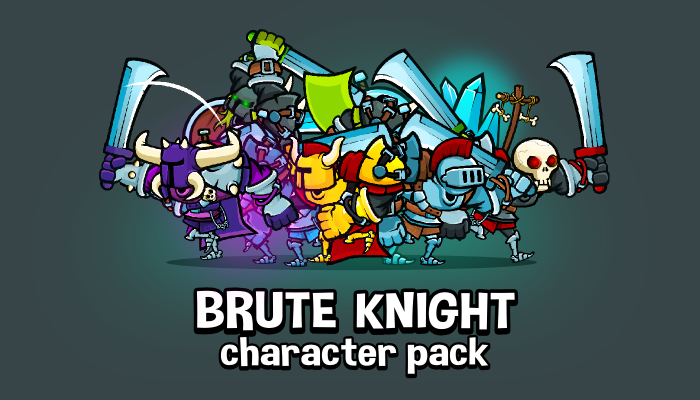 Brute knight character pack