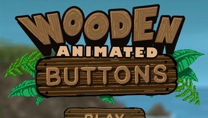 Wooden Menu Buttons