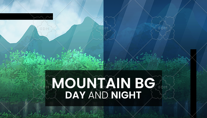 Mountain Background Day And Night