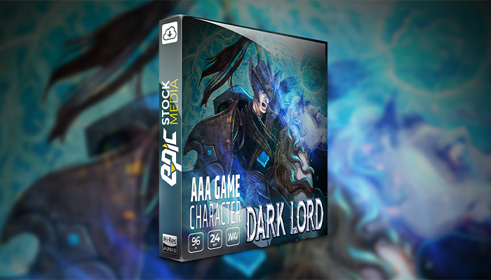 AAA Game Character Dark Lord