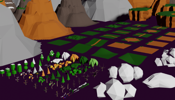 Nature Pack Low Poly by RgsDev