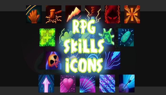 RPG Skills Icons