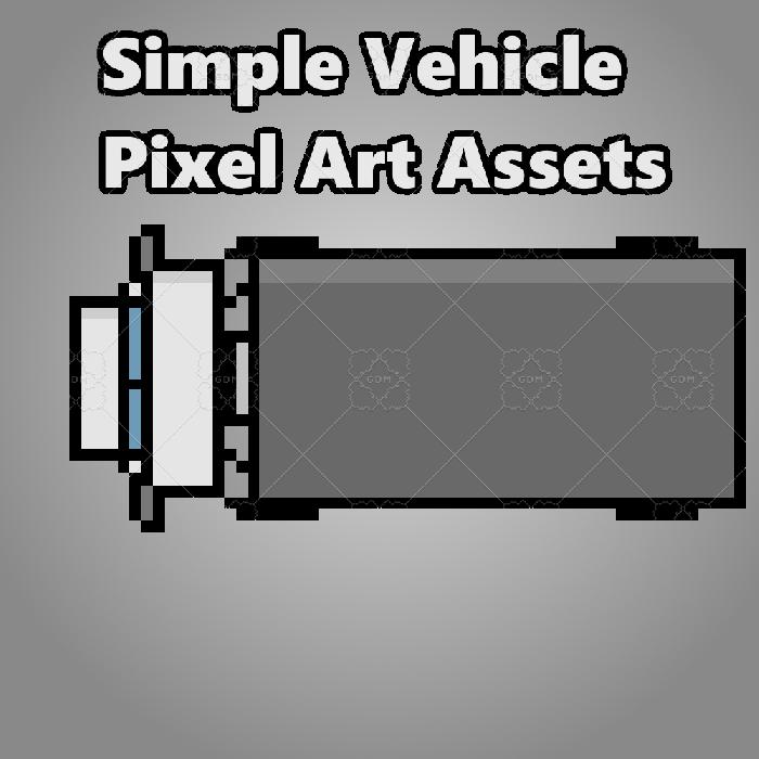 Simple Top Down Vehicle Set (FREE)