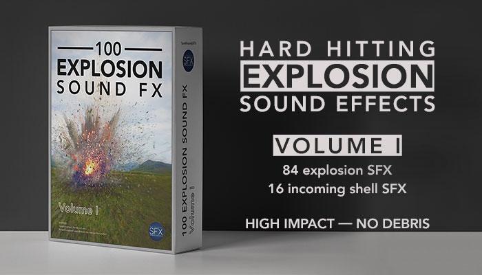 Explosion Sound FX – Explosion Volume I