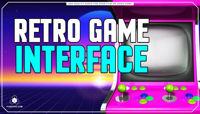 Retro Old School Analog Game User Interface UI Sound Effects Library – Arcade AAA SFX MINI PACK