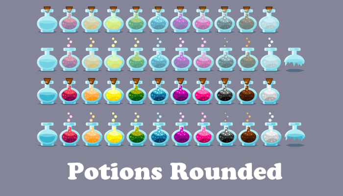 Potions rounded