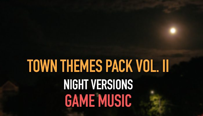 Town Themes Pack Vol. II (Night Versions)