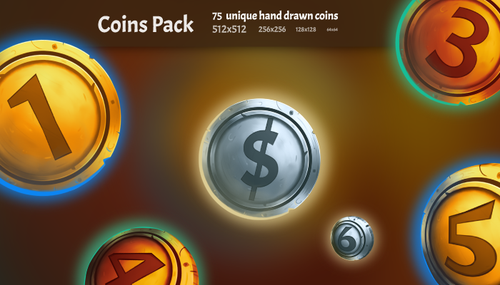 Fantasy Coins Pack