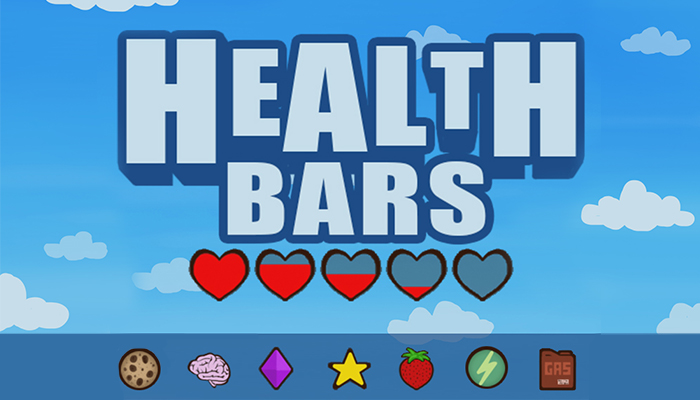 Health and Points Bars