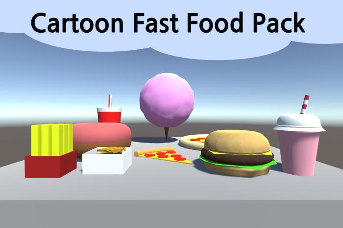 Cartoon Fast Food Pack