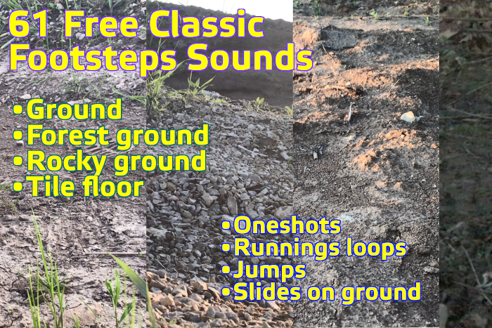 Classic Footsteps SFX