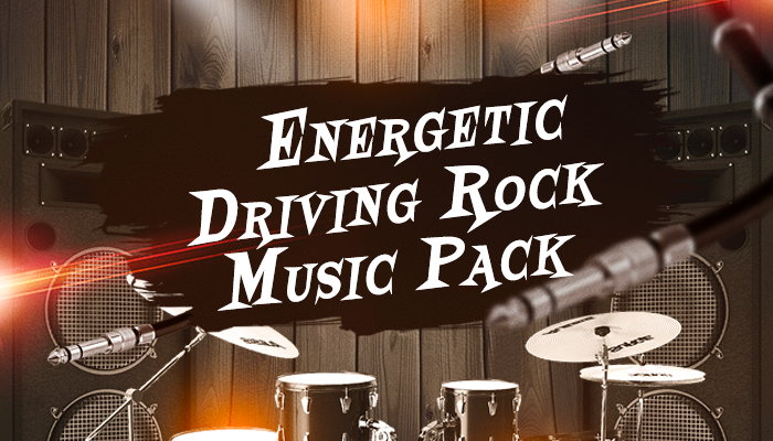 Energetic Driving Rock Music Pack
