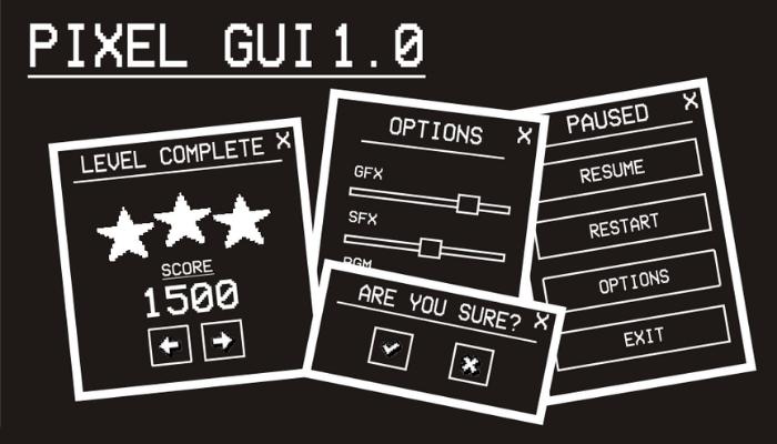 Pixel GUI 1.0