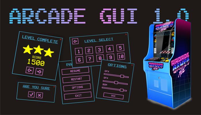 Arcade GUI