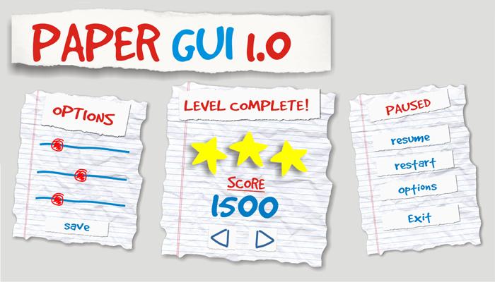 Paper GUI