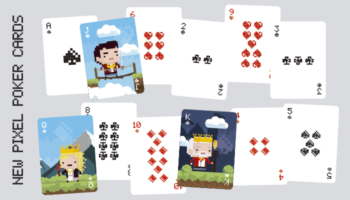 New Pixelated Poker Cards