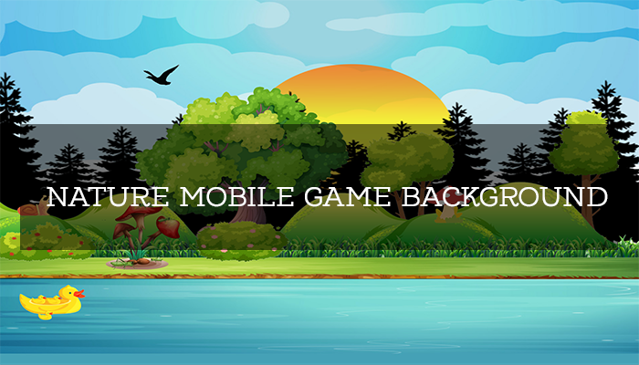 Nature Mobile Game Background
