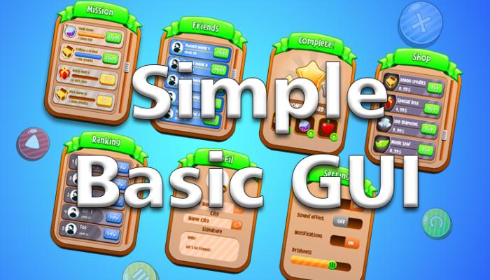 Simple Basic GUI