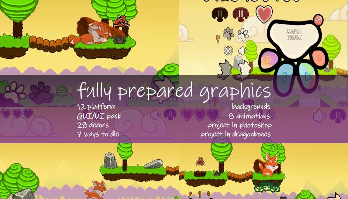 Fully prepared graphics