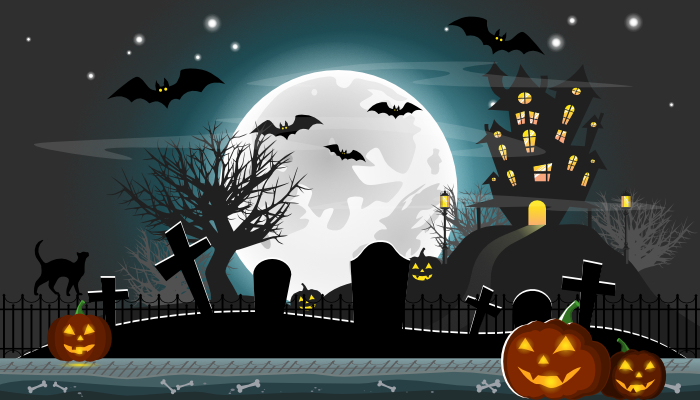 Halloween Background Parallax Game 2