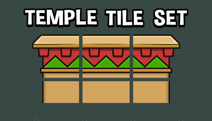 Temple tile set