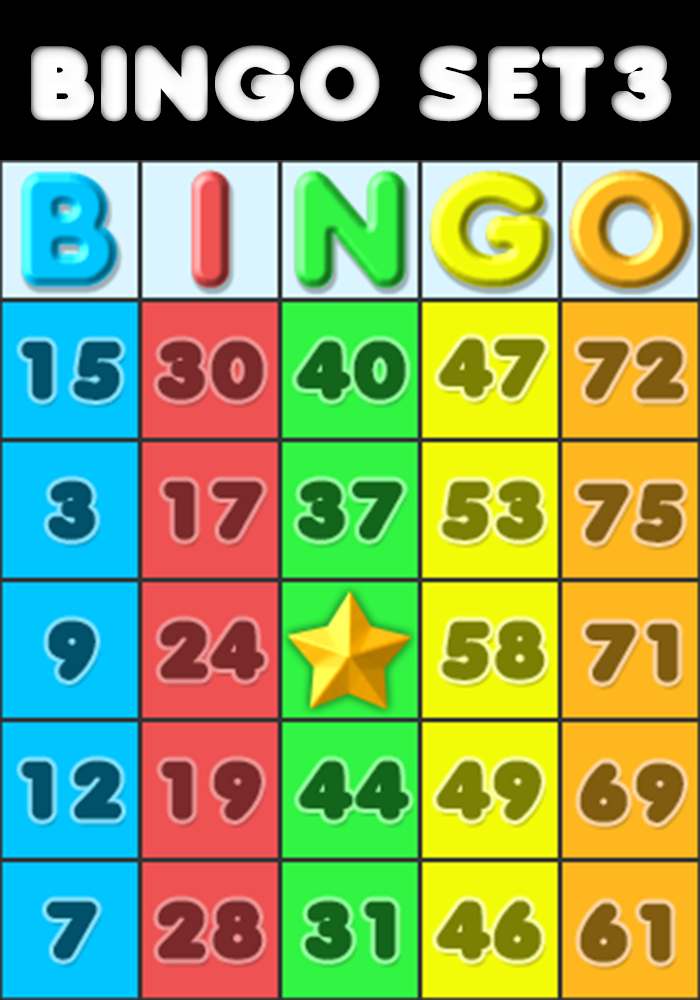 Bingo Set 3