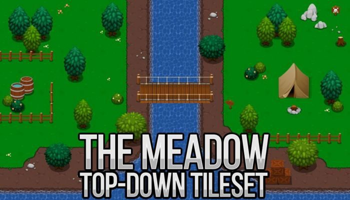 The Meadow – Top Down Tileset
