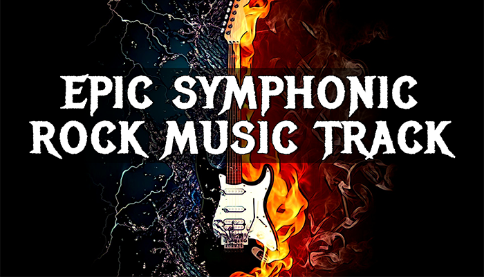 Epic Symphonic Rock Music Track