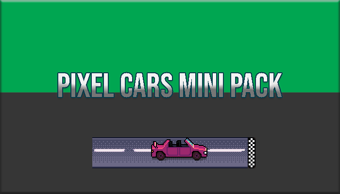 Pixel Cars Mini Pack