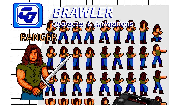 Brawler Asset Character 'Ranger' NES