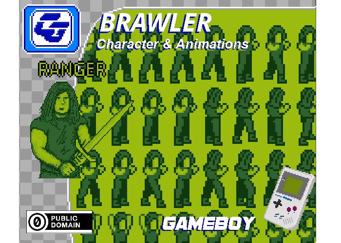 Brawler Asset Character 'Ranger' Gameboy