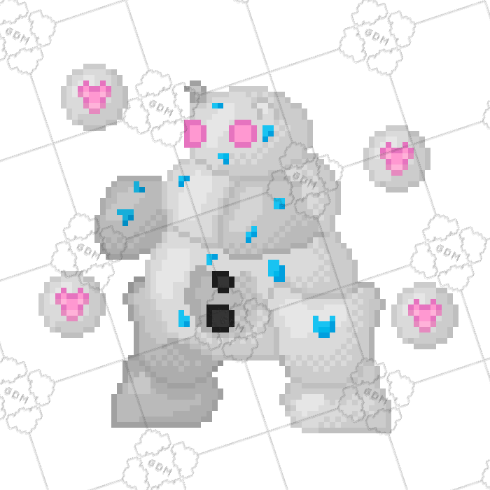 Snow Monster Sprite