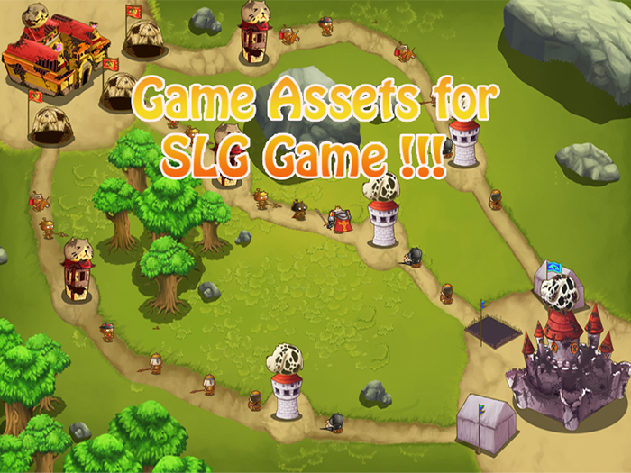 SLG Cute Game Assets