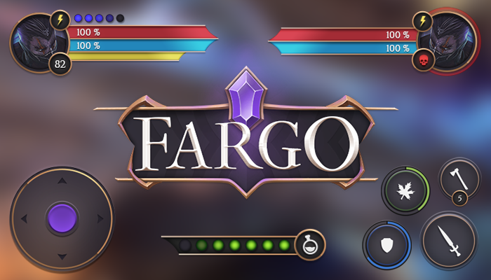 FARGO Mobile Game Interface GUI
