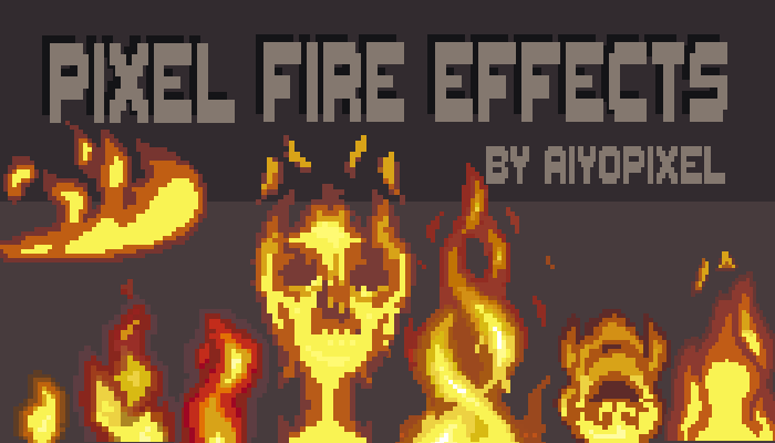 Pixel Fire Effects