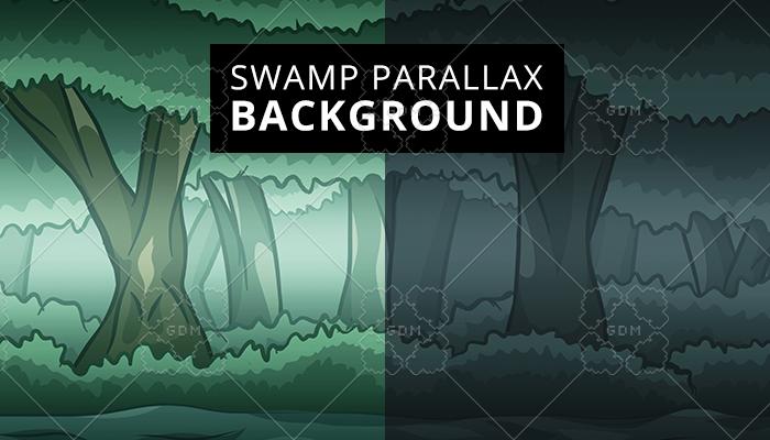 Swamp parallax background