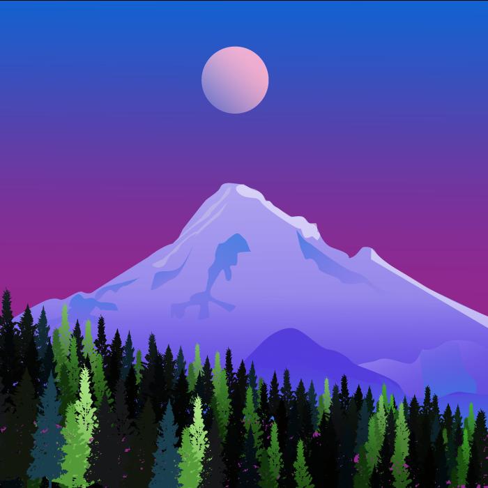 hill landscape