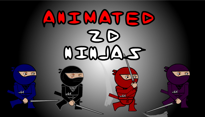 Animated 2D Ninjas