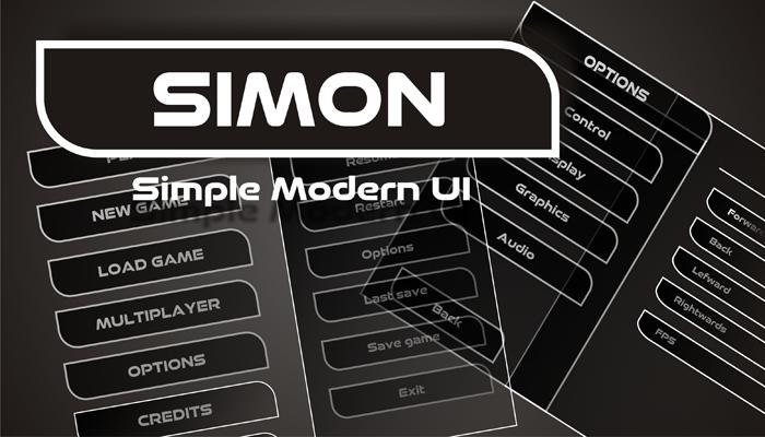 Simple Modern UI