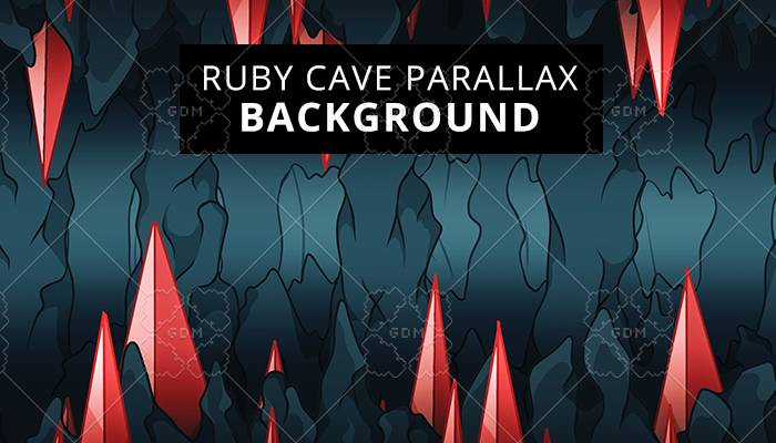 Ruby Cave parallax background