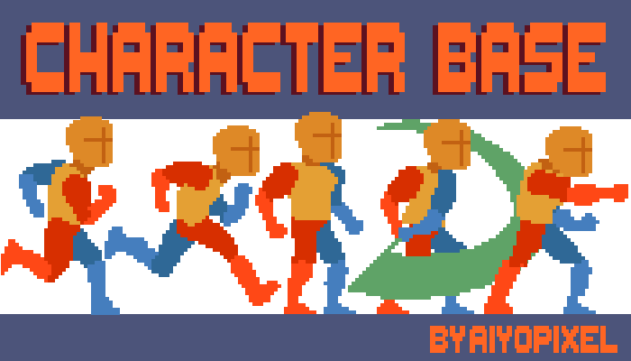 2d Character base