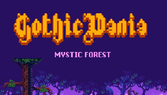 GothicVania Mystic Forest