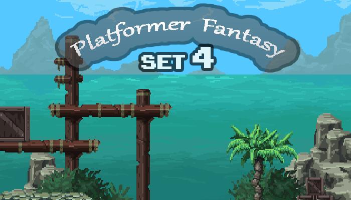 Platformer Fantasy SET4