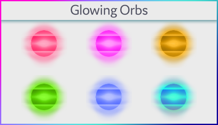Glowing Orbs Pack