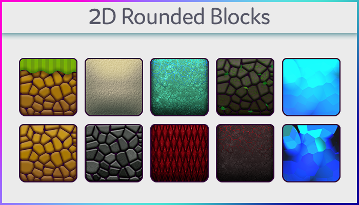 2d Rounded Blocks