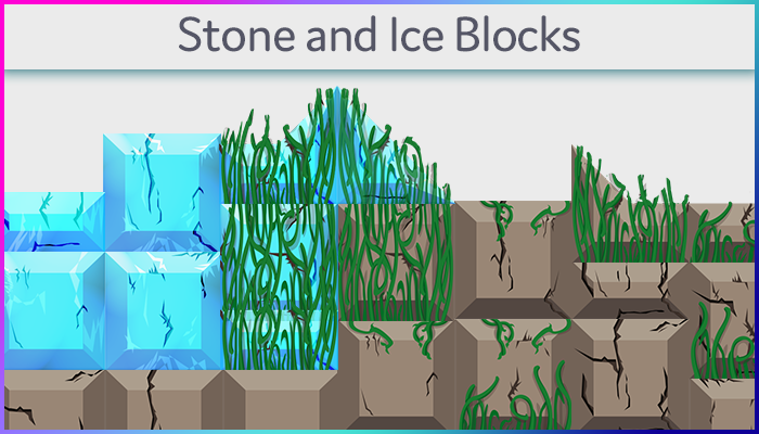 Stone and Ice Blocks