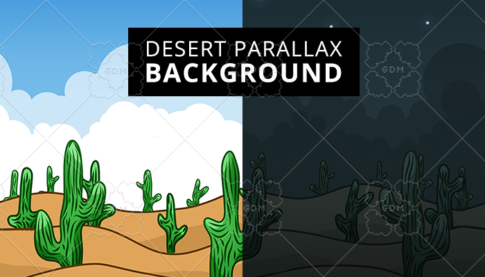 Desert Parallax Background