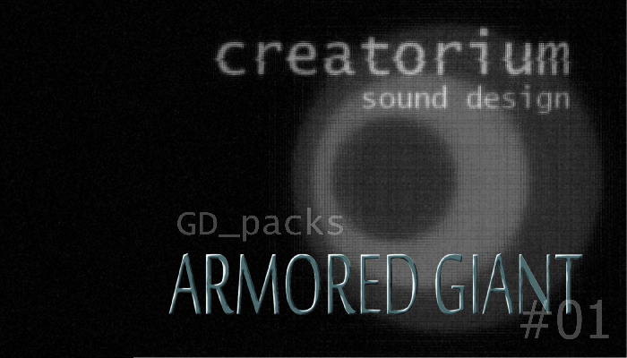 Creatorium GD packs – Armored giant 01