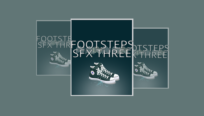 Footsteps SFX Three