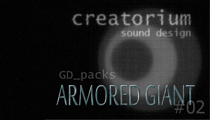 Creatorium GD packs – Armored giant 02